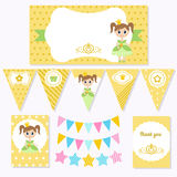Princess Birthday Royalty Free Stock Images