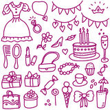 Princess birthday Royalty Free Stock Photos