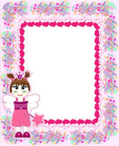 Princess card vector Royalty Free Stock Photos