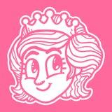 Princess Cartoon Royalty Free Stock Photos