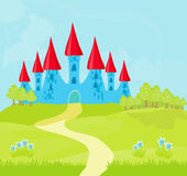 Princess Castle Royalty Free Stock Photos