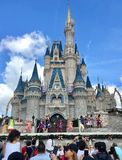 Princess Castle in Disney World Magic Kingdom park, Orlando. Princess Castle in Magic Kingdom theme park, Disney World, Orlando, Florida, USA Stock Photo
