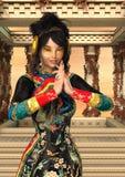 Princess of China Stock Photo