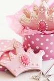 Princess cookies Stock Photo