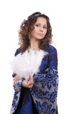 Princess costumes woman Royalty Free Stock Photo