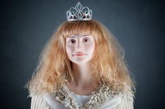 Princess with crown Stock Image