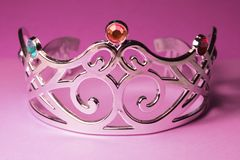 Princess crown. With jewels on it Royalty Free Stock Photos