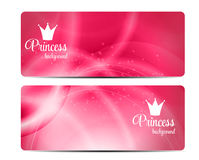 Princess Crown  Background Vector Illustration Royalty Free Stock Images