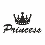 Princess crown. Vector icon isolated on white background stock illustration