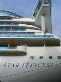 Princess cruise line ship docked in Port of Tallinn, Estonia Stock Photo