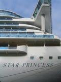 Princess cruise line ship docked in Port of Tallinn, Estonia Stock Photo
