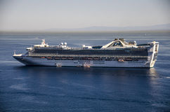 PRINCESS CRUISES SHIP, CATALINA ISLAND Stock Photo
