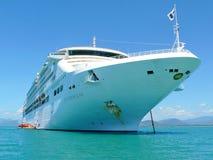 Princess Cruises ship. Sun Princess cruise ship anchored stock photos