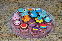 Princess Cupcakes  Royalty Free Stock Images