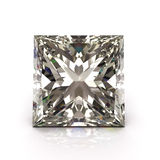 Princess cut diamond Royalty Free Stock Photo