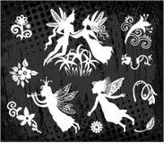Princess czarodziejka i książe Obraz Royalty Free