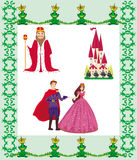 Princess Design Elements Stock Photos