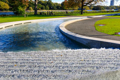 Princess Diana Memorial Fountain in Hyde Park Royalty Free Stock Images