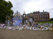 Princess Diana pomnik przy Kensington pałac Fotografia Stock