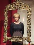 Princess Diana wax statue Stock Photos
