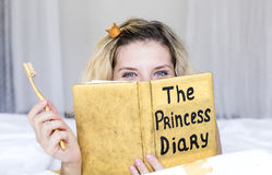 Princess diary Stock Photo