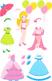 Princess doll Royalty Free Stock Photos