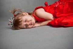 princess dosypianie fotografia royalty free