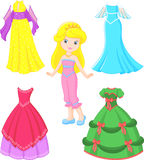 Princess dress Royalty Free Stock Image