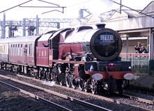 Princess Elizabeth at Carnforth, Lancashire, UK Stock Photos