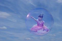 princess för 2 bubbla Arkivfoton