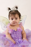 Princess fairy. Beautiful baby girl in princess fairy costume Stock Image
