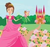 Princess and fairy Royalty Free Stock Photos