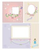 Princess Frame Stock Image
