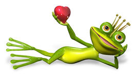 Princess frog Stock Photo