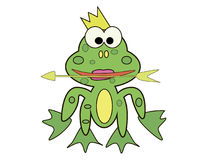 Princess Frog Stock Images