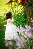 Princess in the garden Stock Images