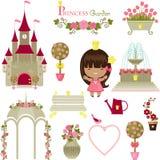 Princess garden. Royalty Free Stock Photography
