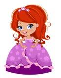 Princess girl Stock Images