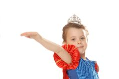 Princess giving Royalty Free Stock Image