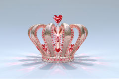 Princess Heart Crown Stock Photo