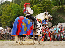 Princess on Horseback, Knights Medieval Festival royalty free stock photos