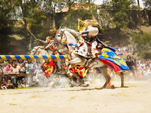 Princess on Horseback, Knights Medieval Festival royalty free stock photo