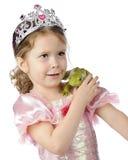 Princess i żaba obrazy stock