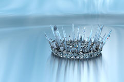 Princess Ice Crown Stock Images