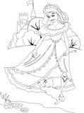 Princess illustration Stock Photo
