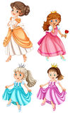 Princess stock illustration