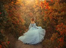 Free Princess In The Autumn Garden Royalty Free Stock Images - 102280999