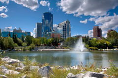 Princess Island. In downtown Calgary,Alberta, Canada Royalty Free Stock Image