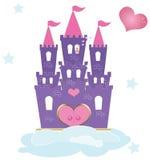 Princess kasztel Zdjęcia Royalty Free