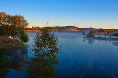 The princess lake 2. Autumn, Inner Mongolia has a lot of, photography enthusiasts to photography Royalty Free Stock Photos
